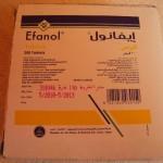 Efanol - 20mg Ephedrin HCL